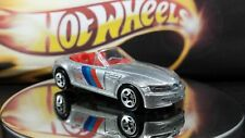 Hot Wheels 1997 Silver BMW M Roadster  Silver 5sp Red Interior Vintage Solid