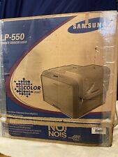 NEW! Samsung CLP-550  Color Laser Printer