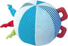 JaBaDaBaDo Stoffball Blau mit Rassel Softball Aktivball Baby