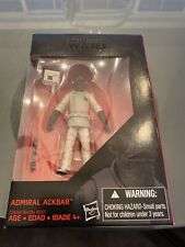 ADMIRAL ACKBAR - Star Wars Black Series 3.75 Figure - Walmart Exclusive - MINT
