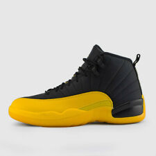 Nike Air Jordan Retro 12 University Gold Yellow Black 130690-070 Men & GS NEW