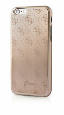 GUESS 4G collection aluminium plaque hard case cover pour Apple iPhone 6 6s 4.7""