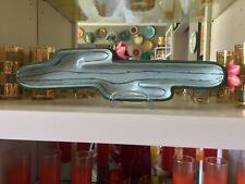 "APPETIZER BOAT DISH Green Figural CACTUS  16"" CERAMIC Platter BOSTON WAREHOUSE"