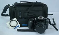 Minolta Maxxum 300si SLR Film Camera, 30-70mm Lens, Bag, Strap, Cleaning Kit LOT