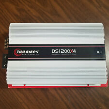 Taramps DS 1200x4 2 Ohms Amplifier 1200 Watts 4 Channel  FREE SHIPPING USED
