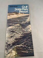 Alabama Gulf State Park Beach Coast Resort Brochure 1968
