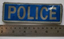 British Police Officer high vis patch, 13 1/2 cms long