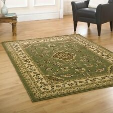 GREEN TRADITIONAL PERSIAN STYLE RUGS 160X230CM