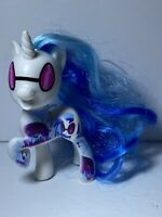 Very Rare!!! Hasbro 2016 My Little Pony G4 Dj Pon brushable hair and w/tattoo