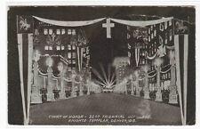 Court of Honor 32d Triennial Conclave Knights Templar Denver CO 1913 postcard