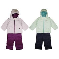 Columbia Girl's Stripe Outgrown Frosty Slope 2PC Jacket & Bib Winter Set