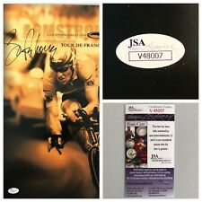 Lance Armstrong Signed Autograph 13x19 Oakley Poster - JSA - FREE PRIORITY S&H!