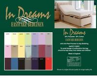 """STUDENT 3/' X 7/' 36/"""" X 84/"""" BED LONG SINGLE FITTED SHEET 90 X 214cm 21 COLOURS"""