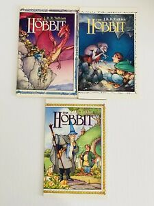 JRR TOLKIEN'S THE HOBBIT #1-3 1ST PRINT COMPLETE SET ECLIPSE 1989 1 2 3 LOT