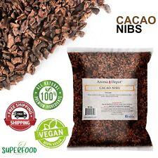 5 Lb. Raw Cacao Nibs / Raw Cocoa Chocolate Arriba Nacional Bean Nibs De Cacao