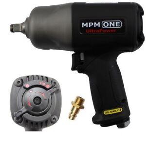 """► 1/2"""" PREMIUM Druckluft-Schlagschrauber 2005 Nm MPM-One UltraPower Twinhammer ◄"""