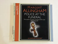 MARGERY ALLINGHAM POLICE AT THE FUNERAL 3 DISC AUDIO BOOK CD PHILIP FRANKS READ