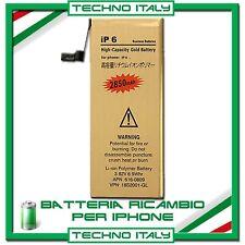 BATTERIA PER APPLE IPHONE 4 4S 5 5C 5S 6 6S PLUS 7 MAGGIORATA NUOVA APN