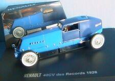 RENAULT 40CV TYPE NM RECORD 1926 GUILLON PLESSIER 1/43 BLEU BLUE MINIATURE 40 CV