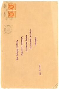 GREAT BRITAIN--Cover from London to Shanghai via Siberia 1936