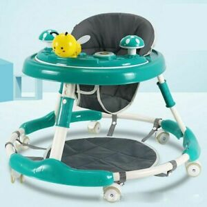 Baby Walker with Wheel and Seat Multifunction Learning Walking Car with Music