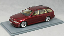 Neo Models BMW 520i Touring in Dark Red Metallic 2002 43301 1/43 NEW