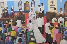 """The Wedding"" African American Religious Art print By Hulis Mavruk"