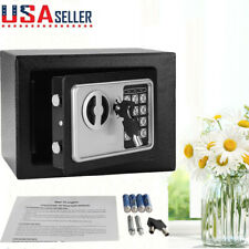 Electronic Digital Safe Box Keypad Lock Heavy  Duty Steel Security Home Office