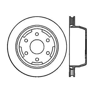 Rr Premium Brake Rotor Centric Parts 120.66045