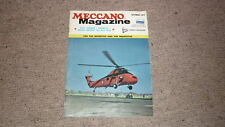 OLD MECCANO MAGAZINE, OCT 1972 RAF MUSEUM, WINDMILLS, CEILING CREEPER