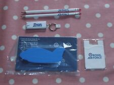RAF Merchandise Bundle includes a key ring torch. NEW & collectable.