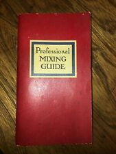 New listing Vintage Cocktail Book Mixing Guide Angostura Bitters Bartending 1947 To 1964