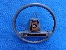 86-89 Cadillac Steering Wheel Eldorado Seville Gray Leather and Wood Grain 87 88
