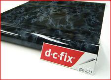 DC FIX Black Marble 67.5CM X 2M Self Adhesive Sticky Back Vinyl 200-8157