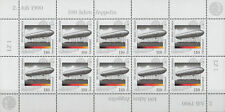 Germany**ZEPPELIN 100 Years-SHEET 10vals-Aviation-2000-LUFTSCHIFF-MNH