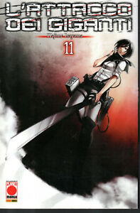 L'ATTACCO DEI GIGANTI n°11 Cover B  VARIANT- ed. Planet Manga