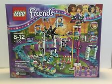 LEGO Friends 41130 Amusement Park Roller Coaster New Release Sealed Mini Dolls
