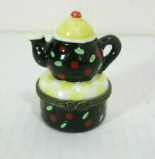 Mary Engelbriet Trinket Box Miniature Teapot