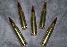 5- 308 7.62x51 7.62 snap caps for training drills black gun 3 gun free ship