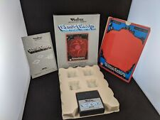 Cosmic Chasm Vectrex Game: working, original box, overlay, and manual.
