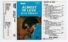 ELVIS PRESLEY - ALMOST IN LOVE   *RARE CASSETTE TAPE*