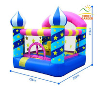 inflatable castle bounce house with air blower for kids commercial NEW