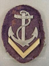 68847 Kriegsmarine: Armabzeichen für Oberbootsmannsmaaten
