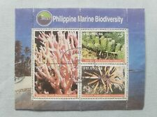 Philippines stamp Souvenir sheet used.