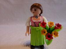 PLAYMOBIL personnage accessoires boutique magasin fleuriste bouquet de fleurs