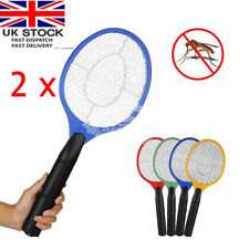 2 x ELECTRIC FLY INSECT SWATTER SWAT BUG MOSQUITO WASP ZAPPER KILLER ELECTRONIC