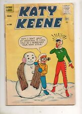 Katy Keene #58 VG/Fn 5.0 Archie Series 1961 No Cut-Outs/Markings! NICE Book!