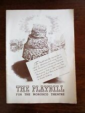 1944 Morosco Theatre Voice of the Turtle Production Program Playbill New York NY