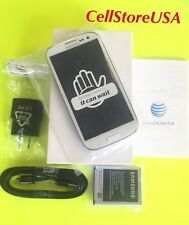 New Samsung Galaxy S III SGH-I747 16GB Marble White (AT&T) Unlocked Smartphone