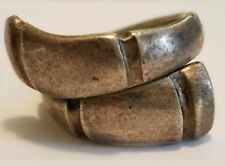 Towle Sterling Silver Bamboo Pattern Spoon Ring Size 6 Slightly Out Of Round